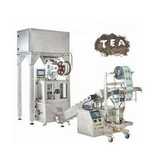 автоматски билни чај најлон пирамиди машина за пакување чај торба