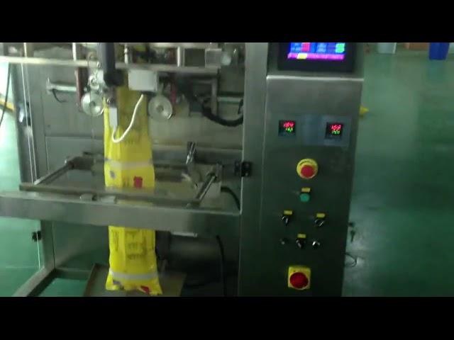 CE Одобрено автоматско формирање на шеќер вертикална вакум машина за пакување
