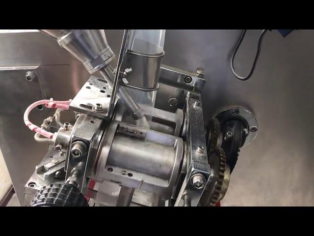Саладин контрола хоризонтална близнак кесичка прав пакување машина